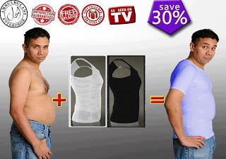 تی شرت لاغری شکم slim n lift